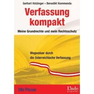 Verfassung kompakt (9783709300947) Benedikt Kommenda Books
