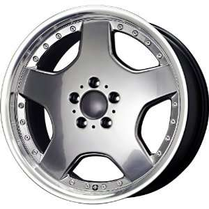 Replica Alloys Mercedes AMG Sport 98 Silver Machined Wheel