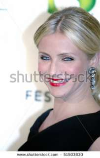 stock photo  NEW YORK   APRIL 21 Actress Cameron Diaz attends the