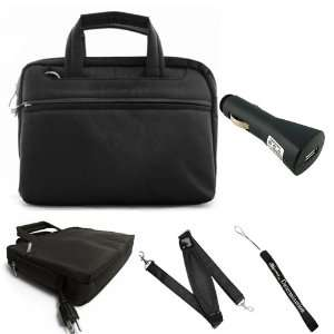 Durable Mini Messenger Bag Carrying Case with Removable Shoulder