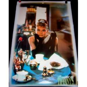 Audrey Hepburn Breakfast At Tiffanys Poster (Movie