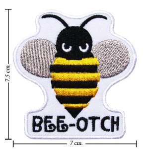Transformer Patch Bumble Bee Otch Embroidered Iron on Patches Free