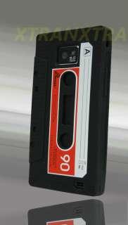 Samsung i9100 Galaxy S2 Sii S ii Cassette Tape Soft TPU silicone gel
