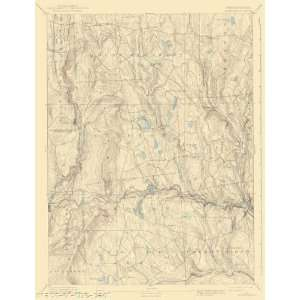 USGS TOPO MAP HONESDALE QUAD PENNSYLVANIA/PA 1892