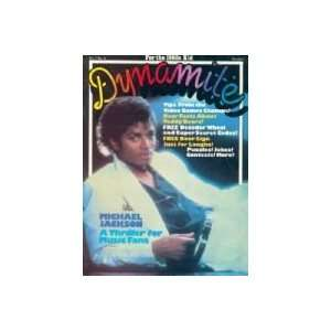 MAGAZINE  OCTOBER 1983 ISSUE   MICHAEL JACKSON COVER  DYNAMITE
