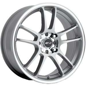 MSR 43 16x7 Silver Wheel / Rim 5x100 & 5x4.5 with a 35mm Offset and a