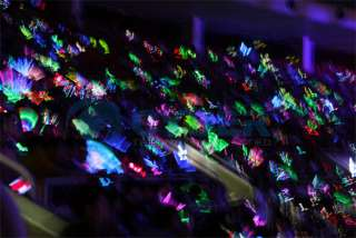 Multi Color LED Flashing Glow Wand Light Stick PARTY