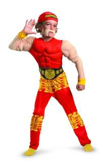 TNA Wrestling Hulk Hogan Classic Muscle Costume Child 7 8 *New*