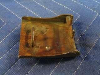 Genuine German WWI 1914 Gott Mit Uns Belt Buckle and Belt I63