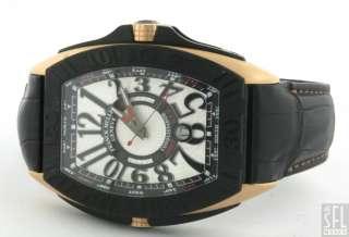 FRANCK MULLER CONQUISTADOR GRAND PRIX 9900 18K ROSE GOLD /TITANIUM MEN