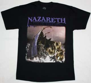 NAZARETH HAIR OF THE DOG75 HARD ROCK DEEP PURPLE URIAH HEEP NEW BLACK