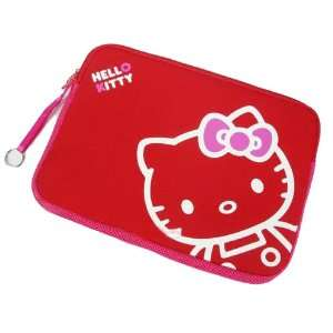 13 14 Red Cute Kitty Laptop Bag Notebook Computer case