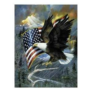 Sunsout American Eagle 500 Piece Jigsaw Puzzle Toys