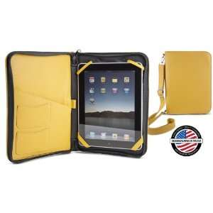 NewerTech iFolio   Premium Yellow Leather Case Holder