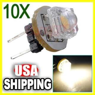 Bi pin Base 1 SMD LED Light Lamp Bulb RV Camper Boat 12V 0.2W