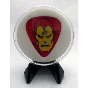 Marvel Universe Classic Iron Man Guitar Pick With Display Case