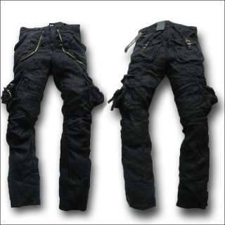MR3 ORGANIC Military Army Cargo CAMO Mens Pants jeans