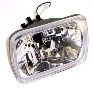 Large Square Headlight Kit 7.875 X 5.625 (H4 Bulb Not