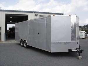 2012 V Nose 8.5x24 Enclosed Cargo Trailer Car Hauler 20