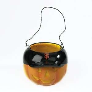 MLB San Francisco Giants Halloween Trick or Treat Pumpkin Bucket