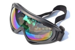 Motorcycle Off Road Ski Goggle Glasses Eyewear Lens Clear Hbz