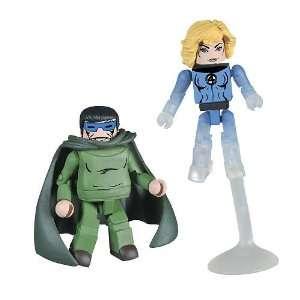 Marvel MiniMates Exclusive Mini Figure 2Pack Mole Man Sue
