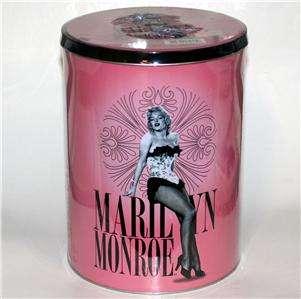 MARILYN MONROE Hollywood 50 x 60 FLEECE THROW BLANKET New with TIN BOX