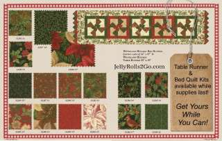 WOODLAND HOLIDAY TABLE & BED RUNNER QUILT PATTERN Moda