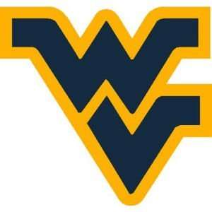 West Virginia Mountaineers Holographic Decal Sports