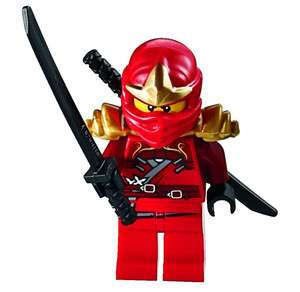 NEW LEGO NINJAGO KAI ZX MINIFIG figure minifigure red ninja