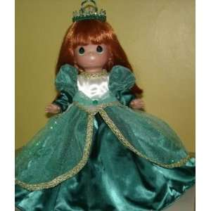 2011 Precious Moments 12 Disney Christmas Doll Ariel Christmas Dreams