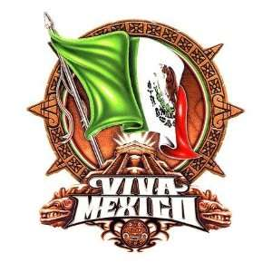 Viva Mexico Flag   Sticker / Decal Arts, Crafts & Sewing