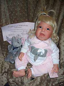 JUST REDUCED~Little Peanut~RETIRED~Lee Middleton Doll~