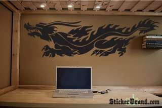 Vinyl Wall Decal Sticker Chinese Dragon 60x17 5ft long