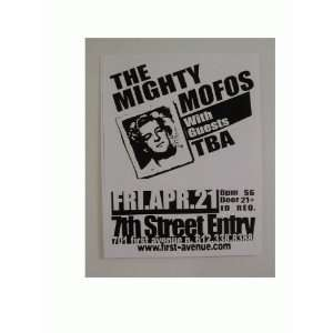 The Mighty Mofos Handbill Poster: Everything Else