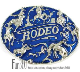 Cowboy Western Horse Head Horseshoe Metal Buckle Boy Mens Leather Belt