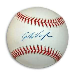 Mo Vaughn Autographed/Hand Signed MLB Baseball
