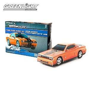 Motobuildz, 12 Dodge Challenger (Orng) 3 D Puzzle Toys & Games