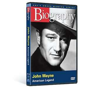 Biography   John Wayne American Legend DVD, 2007