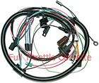 1979 Corvette Air Conditioning AC Wiring Harness NEW (With Aux Cooling