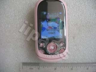 HELLO KITTY 668 Mini Bluetooth Slide Phone+Mirror+Case/U