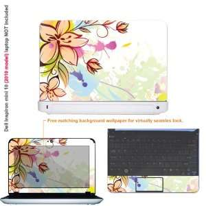 Protective decal sticker for Dell Inspiron 1012 case cover 10mini10 15