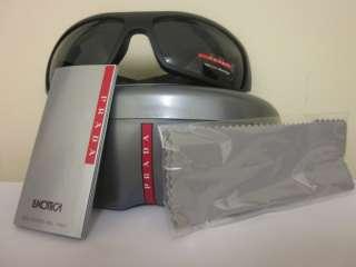New Authentic Prada Sunglasses PS01LS PS 01LS 1BO1A1 1B01A1 Black %100