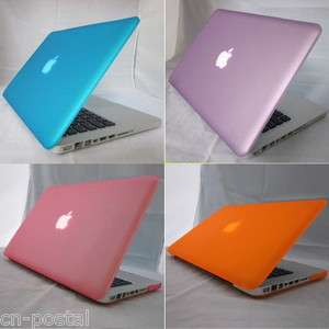 rubberized hard case cover shell protector f MacBook Pro 13 13.3 A1278