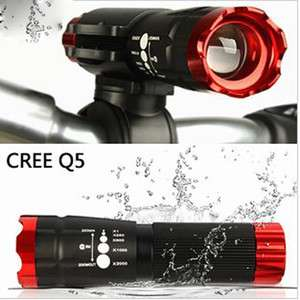 CREE Q5 240 lumen LED BICYCLE bike HEAD LIGHT HEADLIGHT WITH MOUNT