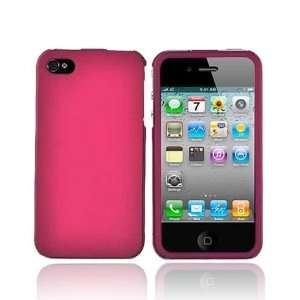 for iPhone 4 Rose Pink Hard Case & Screen Protector Electronics