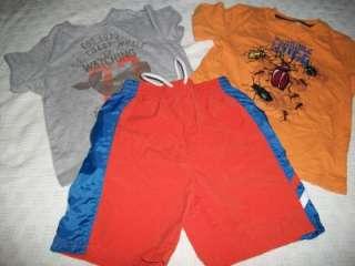HUGE 52 LOT TODDLER BOYS 4T SPRING SUMMER CLOTHING SHORTS SHIRTS
