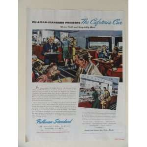 Pullman Standard Car manufacturing Company. 40s full page