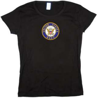 US United States Navy Baby Doll Tee JUNIOR SIZE T SHIRT