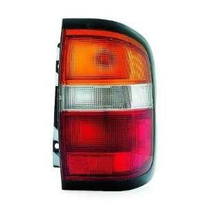 1996 1999 Nissan Pathfinder Tail Lamp Assembly LH Automotive